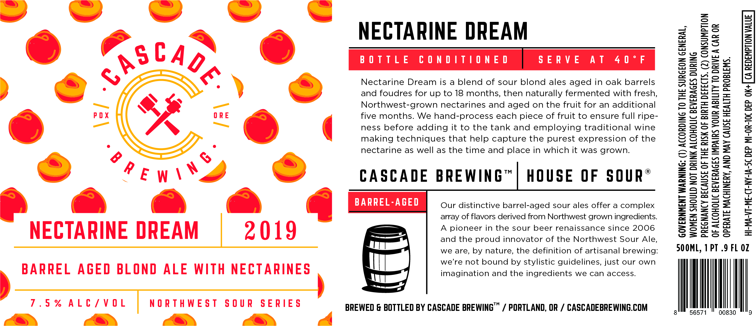 Nectarine Dream 2019
